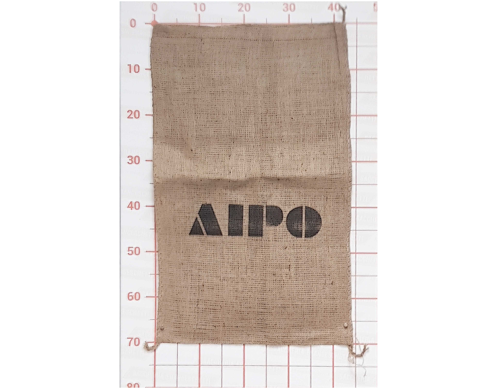 Small Bag Jute 040X070 Printed 1 Side/ 1 Colour