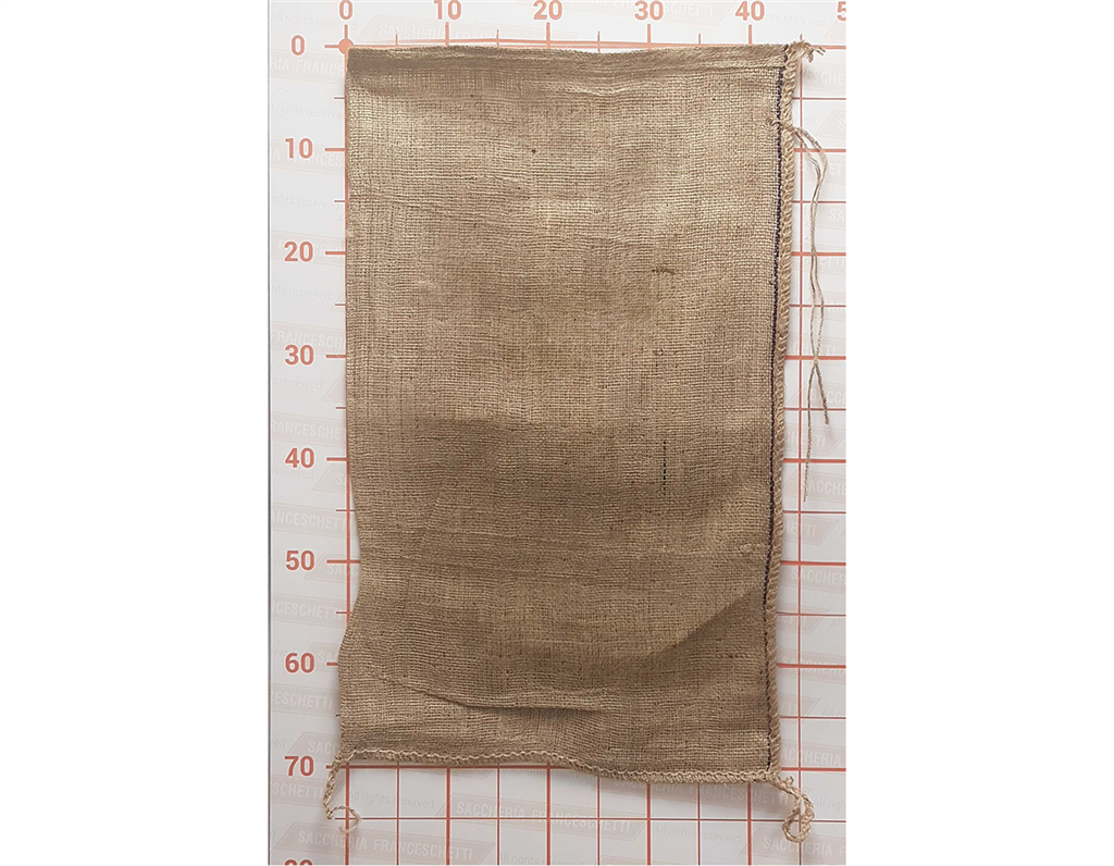 Small Bag Jute Hessian 045X070 with Tie String