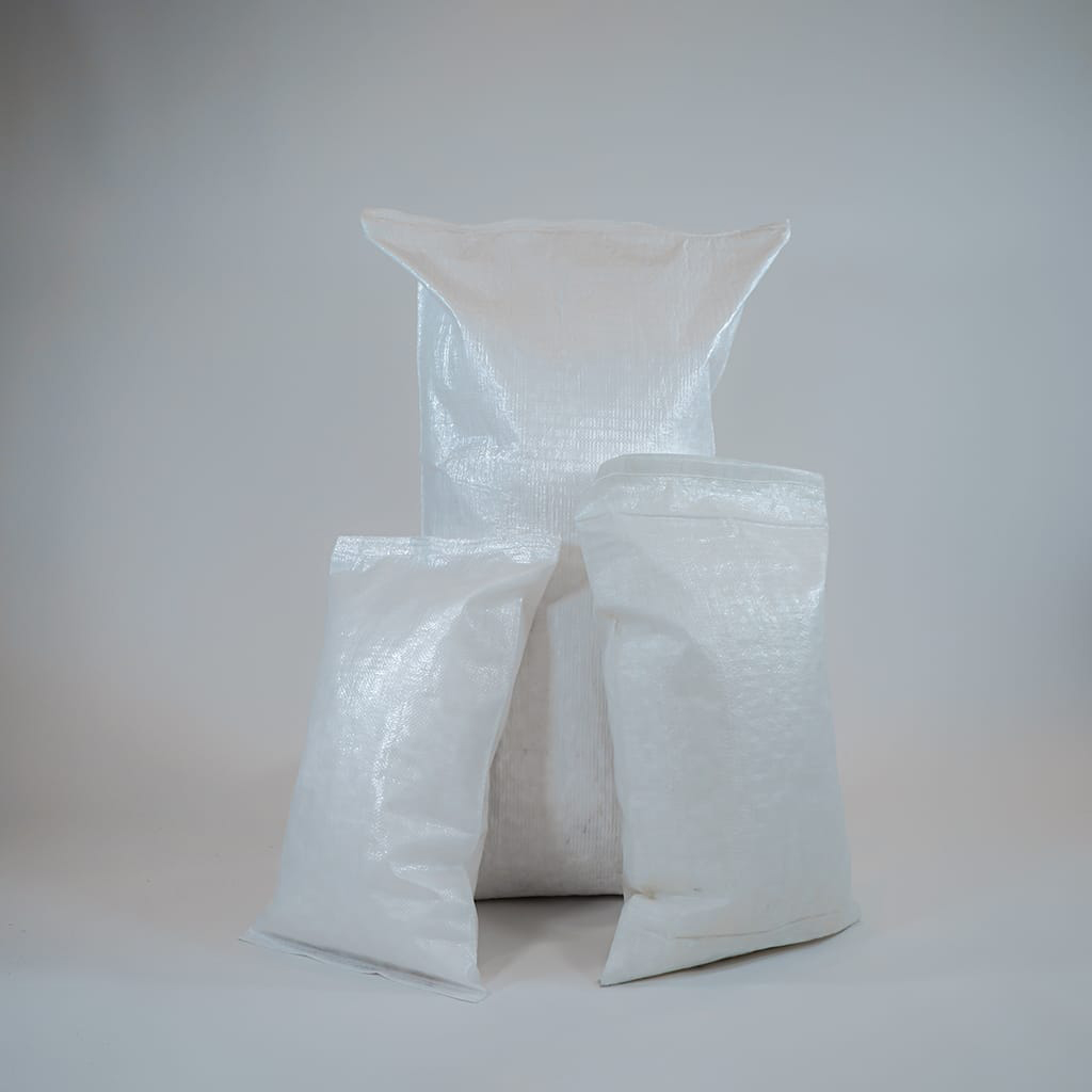 Small Bag 045X090 White Hemmed Mouth Thermowelded